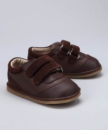 Brown Double-Strap Shoe