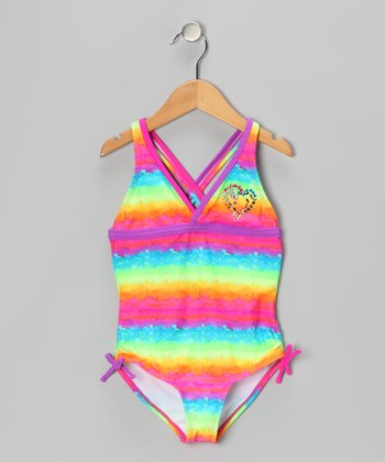 Rainbow Stop 'n' Glow One-Piece