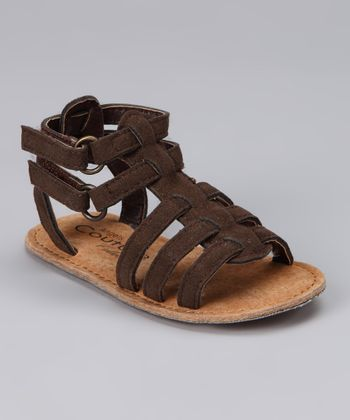 Angels Couture Brown Strappy Sandal