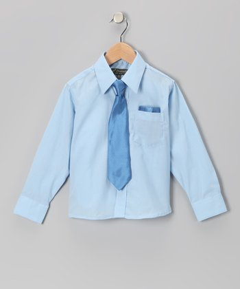 Baby Blue Shirt Set - Infant, Toddler & Boys