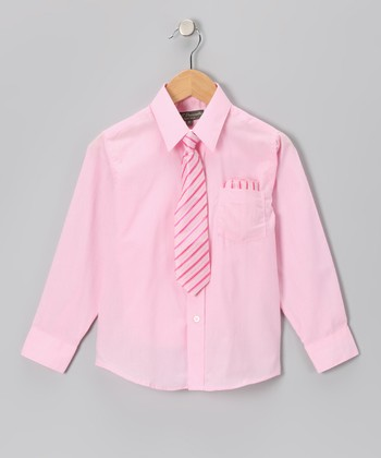 Pink Shirt Set - Toddler & Boys