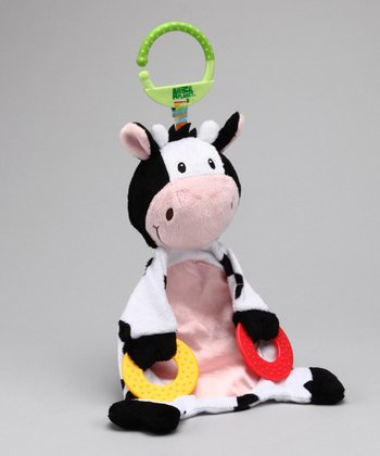 White Cow Teething Buddy Toy