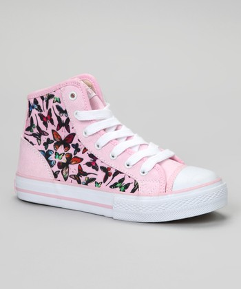Pink Superfly Hi-Top Sneaker