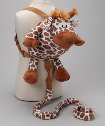 Brown Giraffe Backpack Harness
