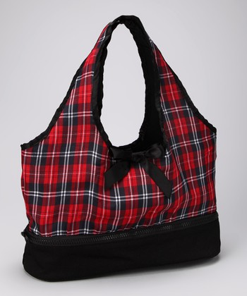 Red Plaid Doll Carrier