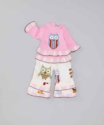 Pink Night Owl Doll Outfit