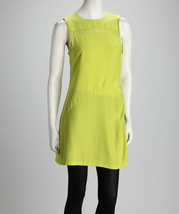 Anna Catherine Limelight Silk Dress