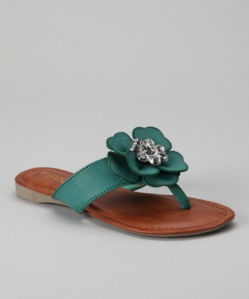 Green Beach 12 Sandal