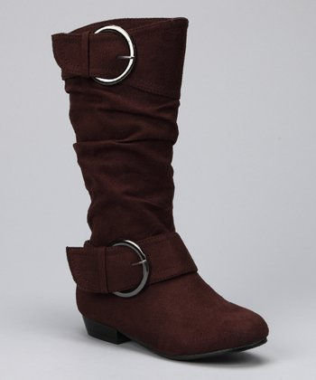 Brown Suede Tiffany Boot