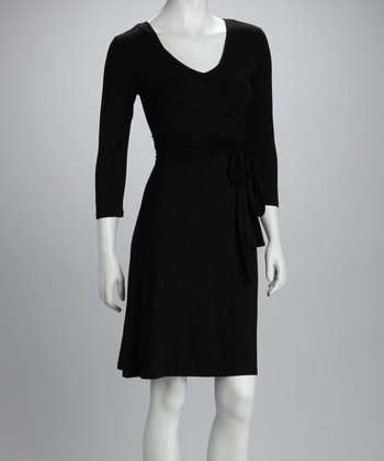 Black Giselle Maternity & Nursing Dress - Women & Plus