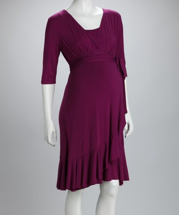 Violet Rose Evita Maternity & Nursing Dress