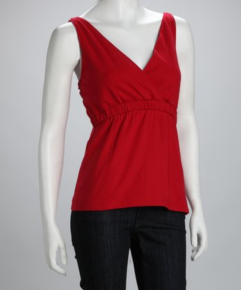 Red Body Nursing Tank - Women & Plus