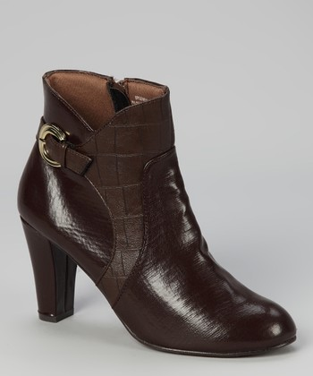 Brown Kira Bootie