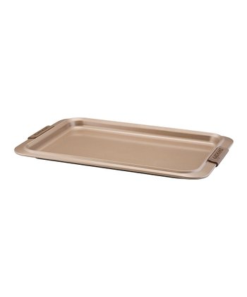 Bronze Nonstick 17'' x 11'' Cookie Sheet