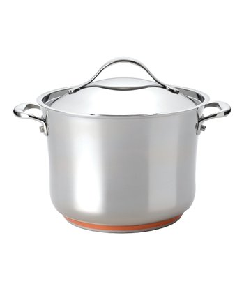 Nouvelle Stainless Steel 8.25-Qt. Covered Stockpot