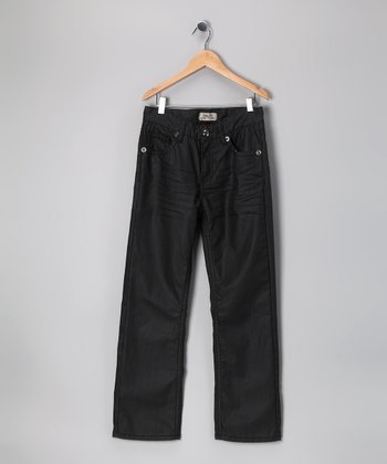 Antique Rivet Black Perry Jeans - Boys