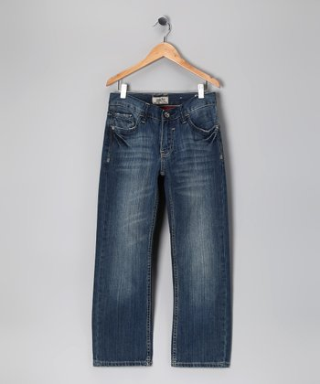Antique Rivet Blue Chaucer Jeans - Boys