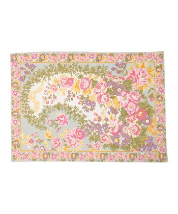 Florentine Paisley Mist Place Mat - Set of Four