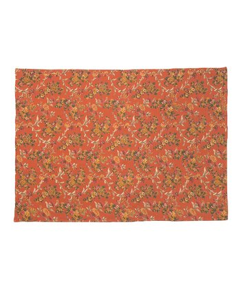 Daisy Rose Rust Dish Towel - Set of Two