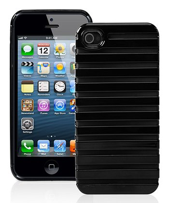 Black Stripe Case for iPhone 5