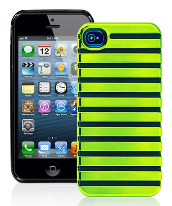 Neon Green Stripe Case for iPhone 5
