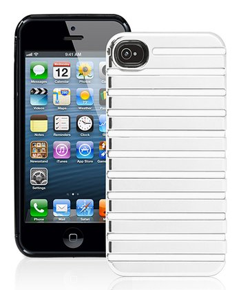 White Stripe Case for iPhone 5