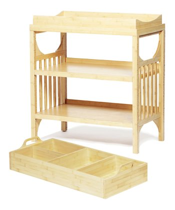 Bamboo Bam Changing Table & Diaper Caddy