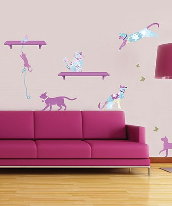 Patterned Pets Wall Decal Set