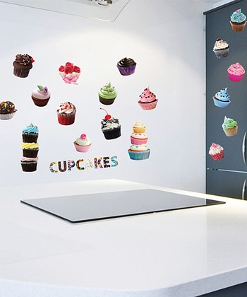 Cupcakes Wall Decal Set