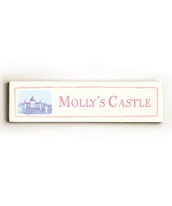 'Castle' Personalized Wall Art