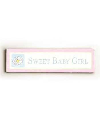 'Sweet Baby Girl' Wall Art