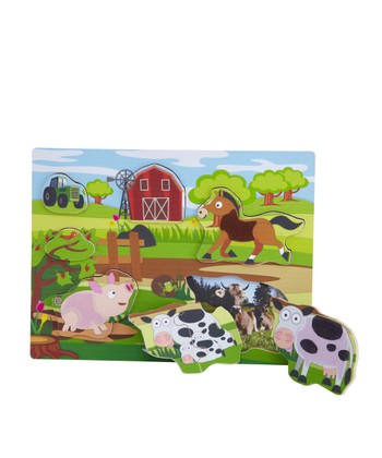 Farm Three-Layer Puzzle