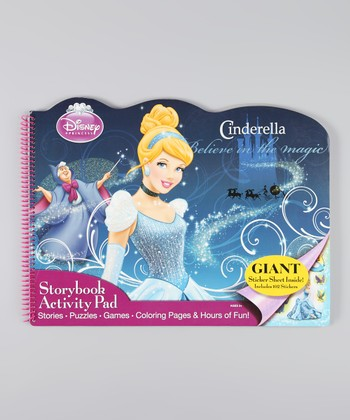 Cinderella Die-Cut Activity Pad