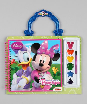 Minnie Mouse Paint & Color Set