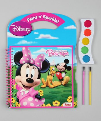 Minnie Mouse Paint & Sparkle Set