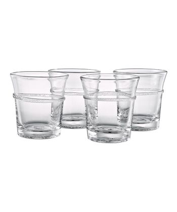 Juniper Double Old-Fashioned Glass - Set of Four
