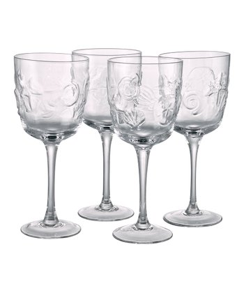 Shell Goblet - Set of Four