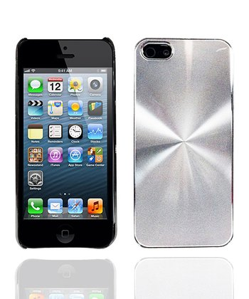 Brushed Chrome Pinpoint Case for iPhone 5