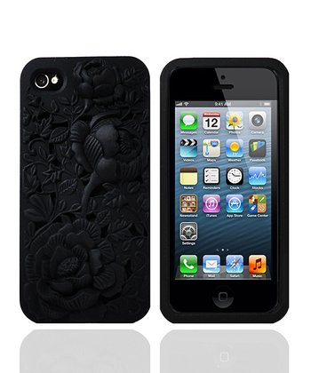Black Rose Case for iPhone 5