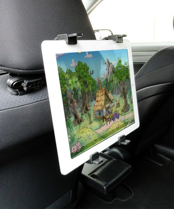 Black Universal Headrest Tablet Mount