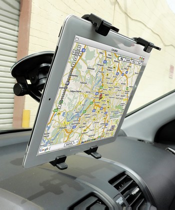 Black Univeral Windshield Mount for Tablets