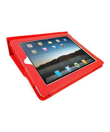 Red Portfolio Case for iPad 2/3