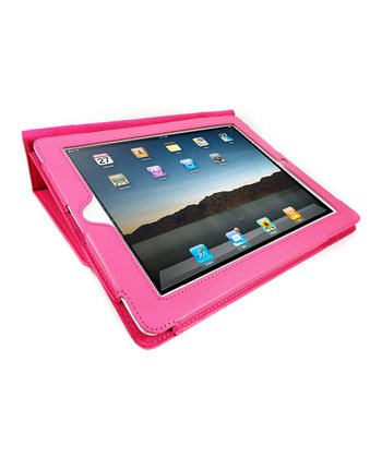 Pink Portfolio Case for iPad 2/3