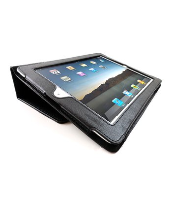 Black Portfolio Case for iPad 2/3