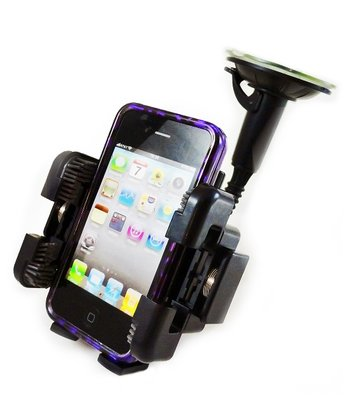 Black Universal Mobile Phone Window Mount