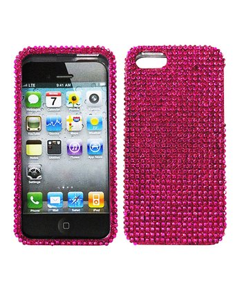 Pink Crystal Case for iPhone 5