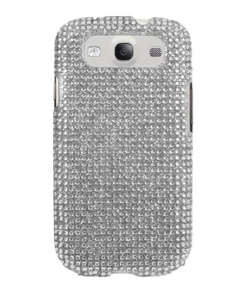 White Crystal Case for Samsung Galaxy S III