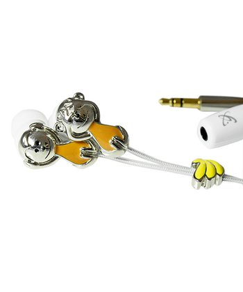 Monkey Do Grungebud Microphone Earbuds