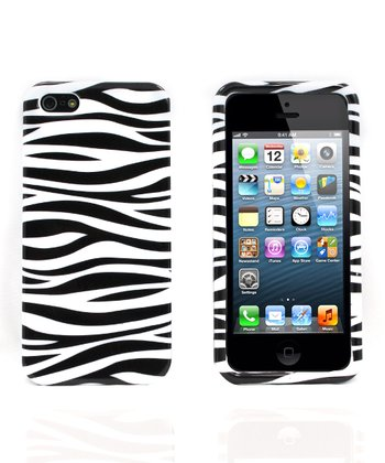 Black & White Zebra Case for iPhone 5/5s
