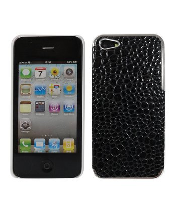 Black Alligator Case for iPhone 5